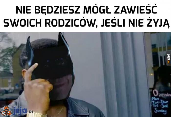 Takie już życie Batmana