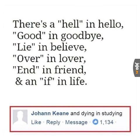 Doskonałe porównanie umierania