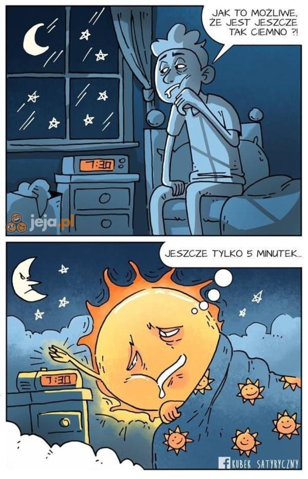 Słońce też ma swoje słabości