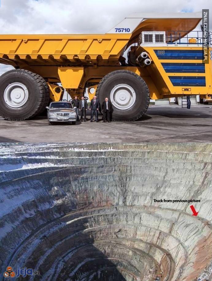 Największa dziura na świecie