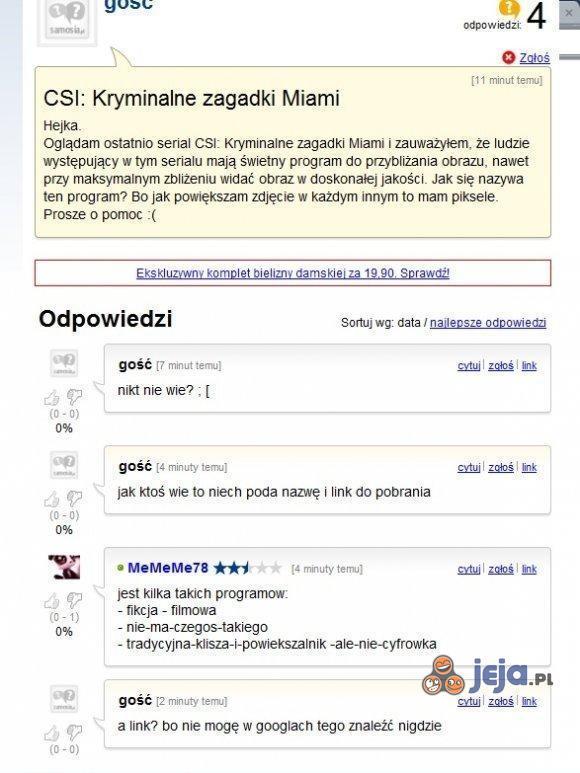 Ludzie potrafią zaskoczyć inteligencją...