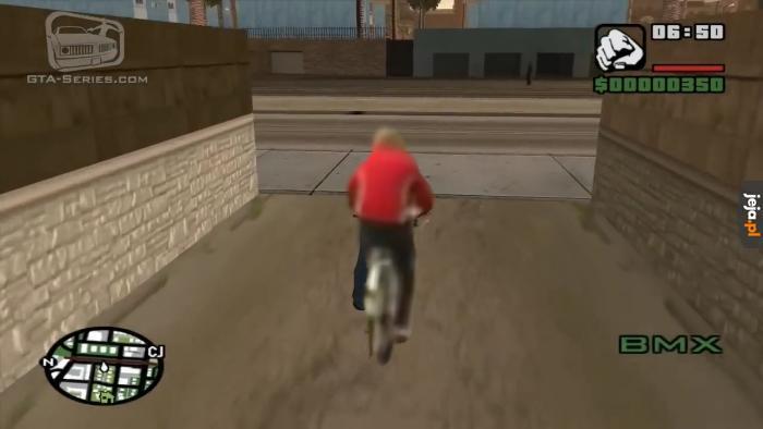 CJ, Ty draniu! Oddaj rower!