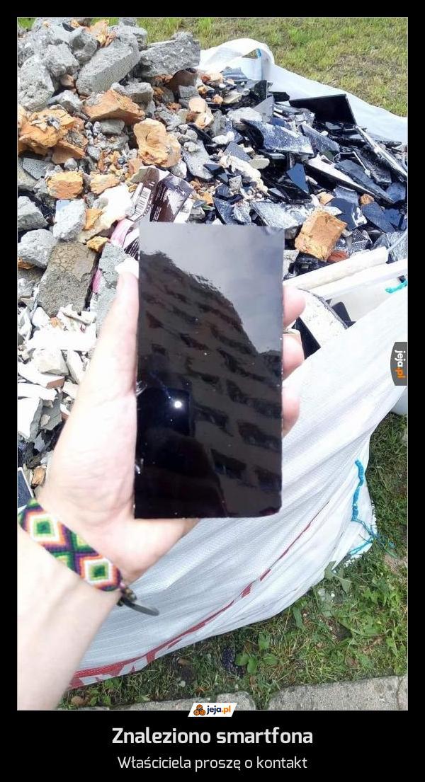 Znaleziono smartfona
