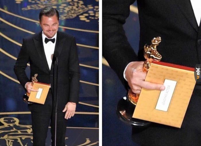 Podziękowanie za Oscara