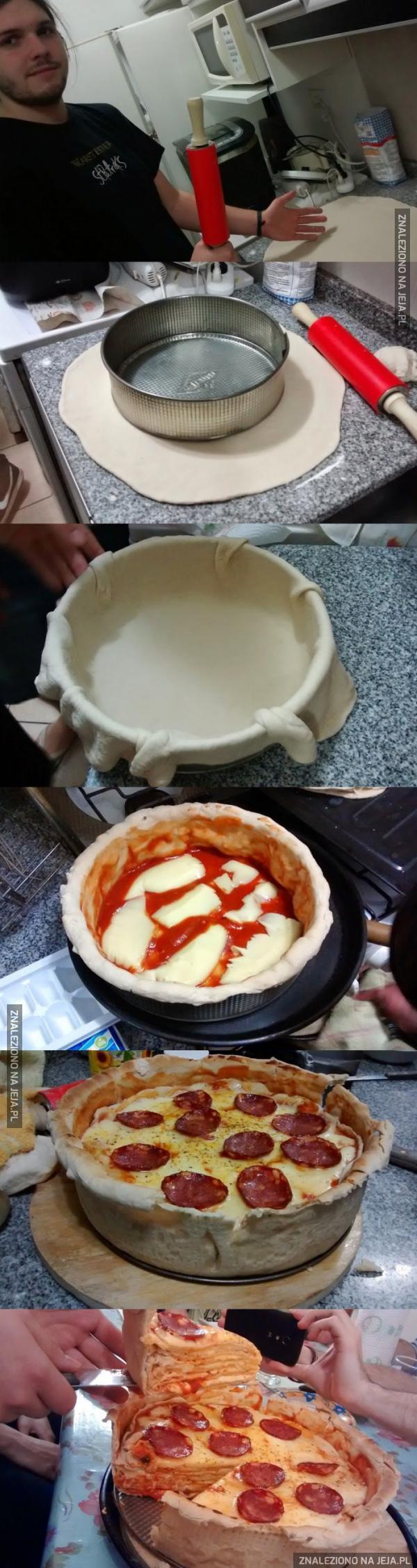 Piękna pizza!