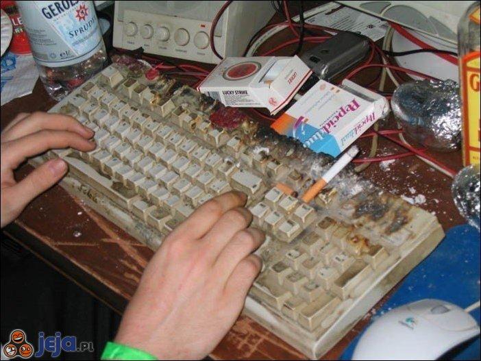 Stara klawiatura