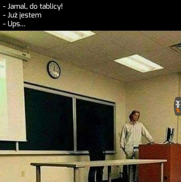 Ta szkoła jest rasistowska!