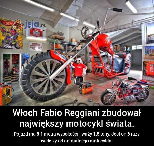 Największy motocykl świata