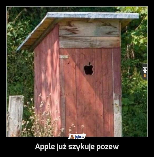 Apple już szykuje pozew
