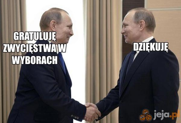 Były prezydent Rosji gratuluje nowemu prezydentowi