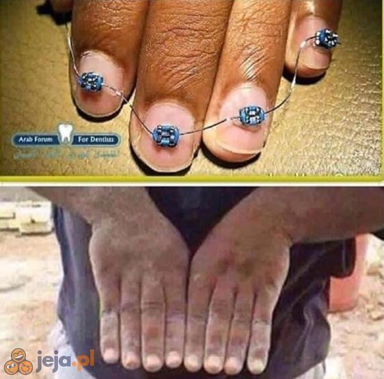 Prostowanie dłoni