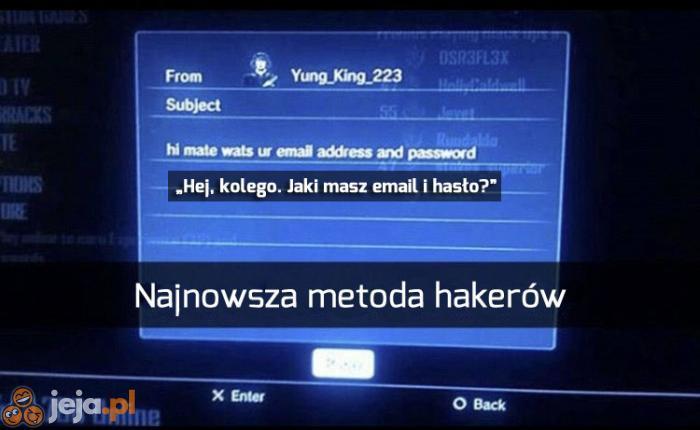 Haker prosto z Kanady