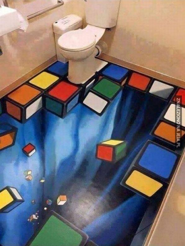Iluzja w WC