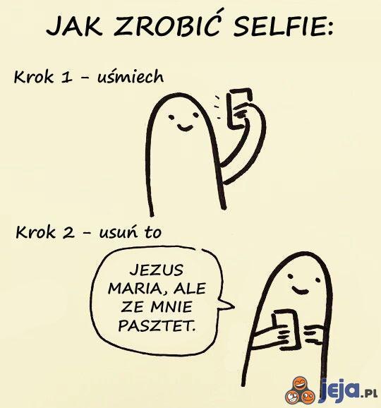 Jak zrobić selfie
