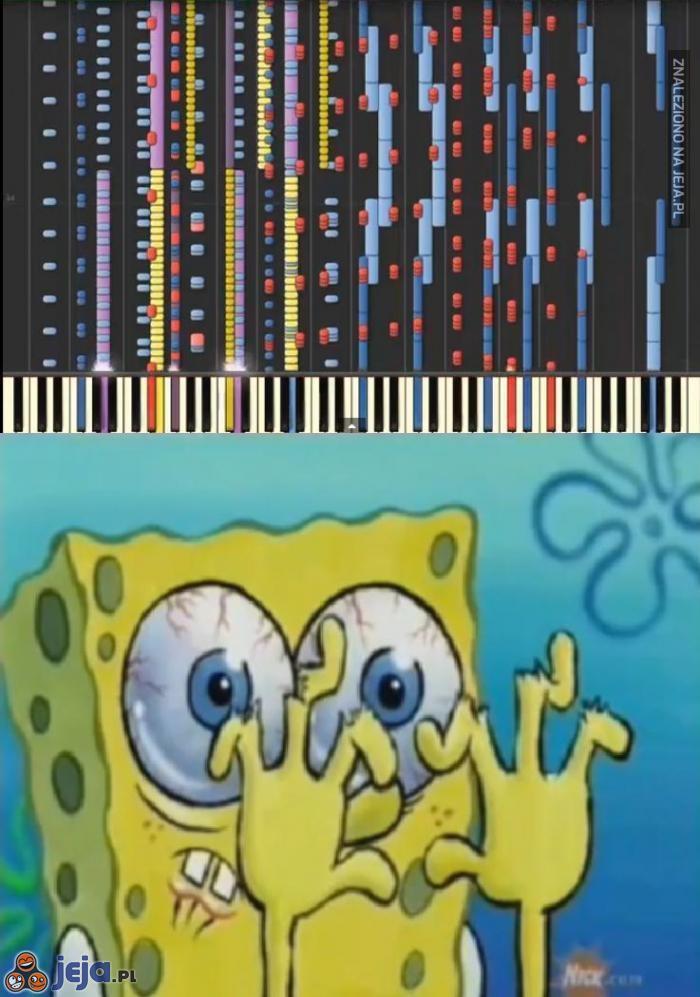 Gra na keyboardzie chyba nie dla mnie
