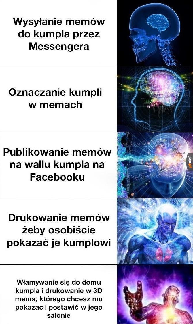Jak dzielić się memami