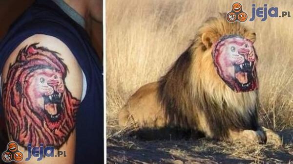 Nieudany tatuaż