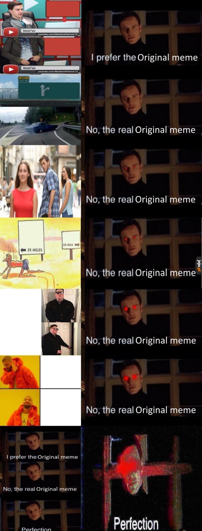 Perfekcyjny mem z wyborem