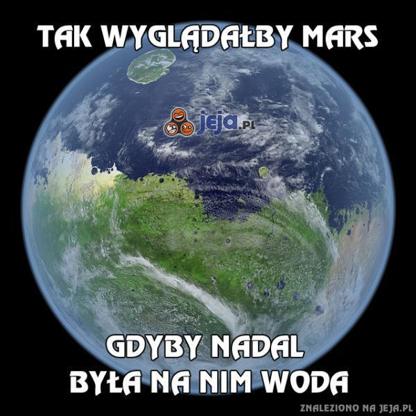 Tak wyglądałby Mars