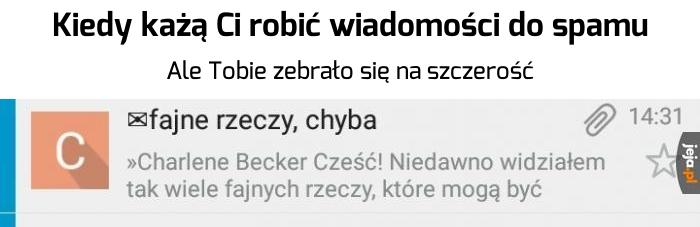 Szczery spam