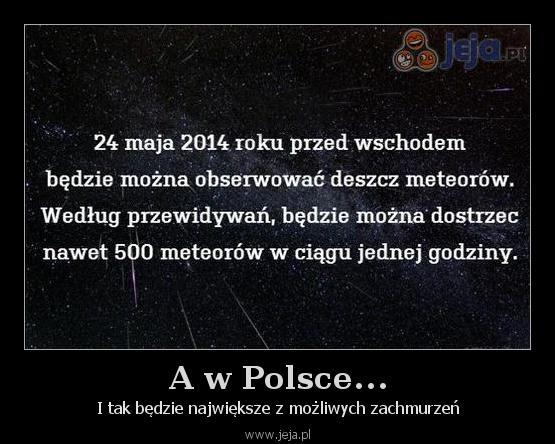 A w Polsce...