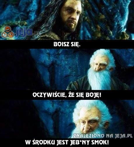 """Wycięta scena z """"Hobbita"""""""