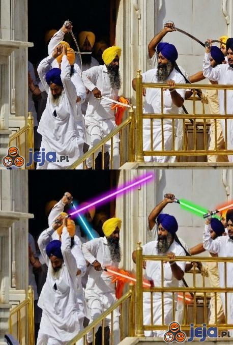 Gwiezdne Wojny część VIII - Zemsta Sikhów