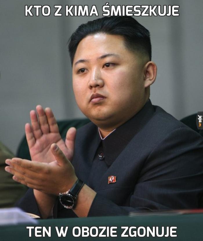 Kto z Kima śmieszkuje