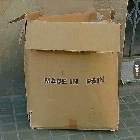 Stworzone w bólu
