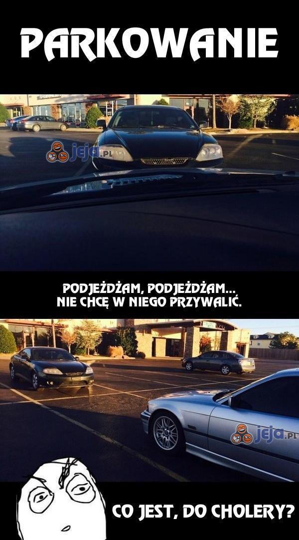 Problemy z parkowaniem