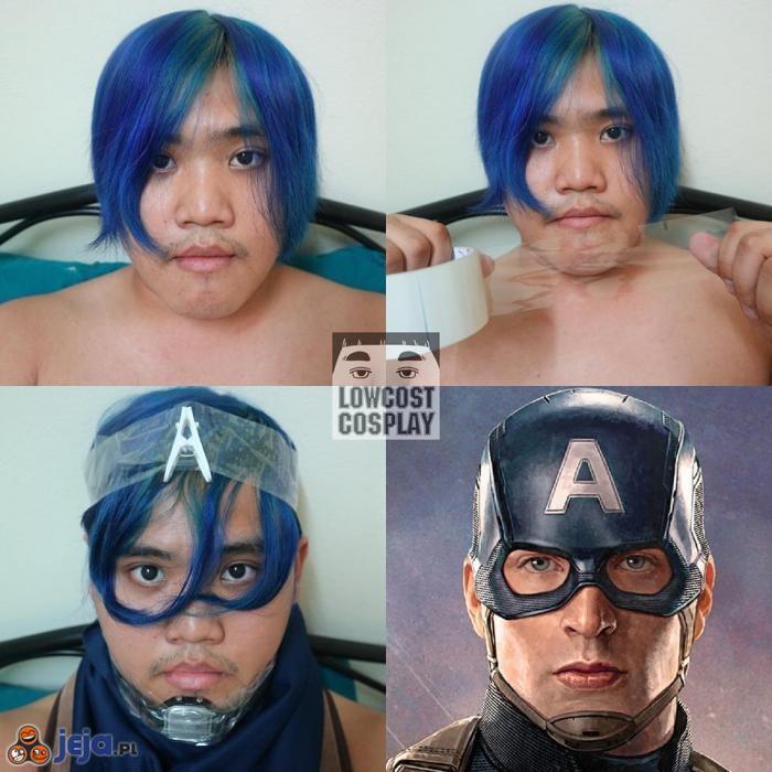 Cosplay Kapitana Ameryki