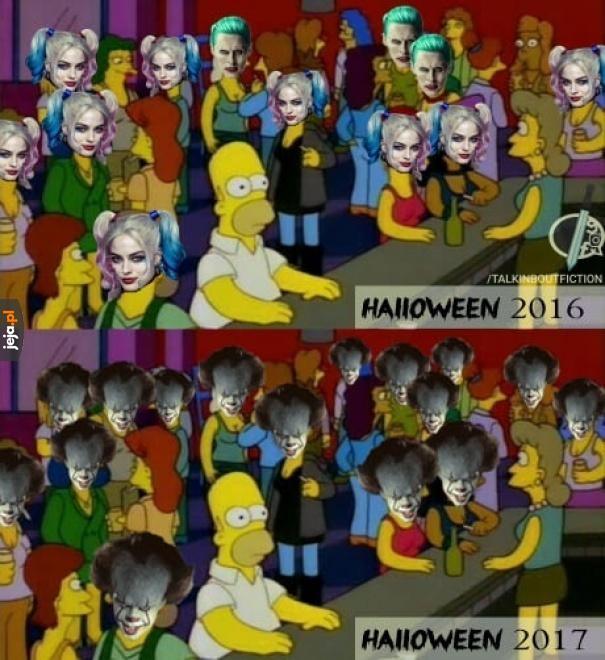 Halloweenowe trendy 2017