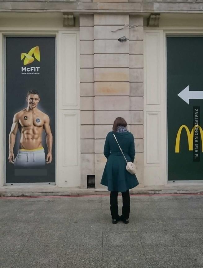 McDonald ma siłownię