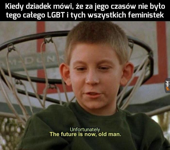 Świat się zmienia na...