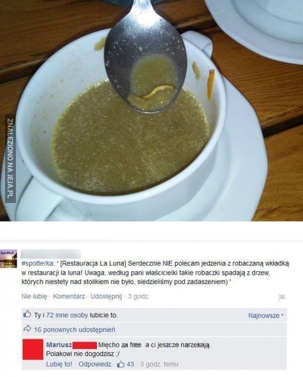Zupa z wkładką