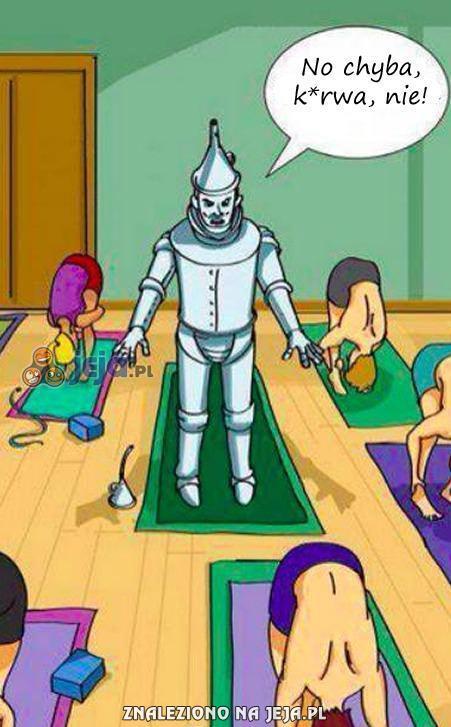 Pierwszy dzień na lekcji jogi
