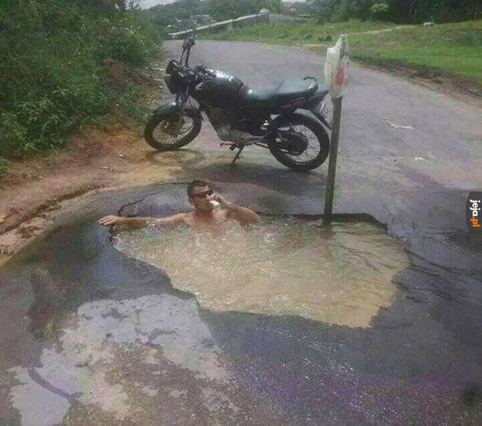 A Wy narzekacie na polskie drogi