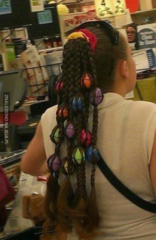 Wielkanocna fryzura