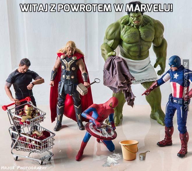 Witaj z powrotem w Marvelu!