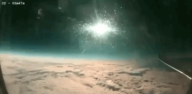 Zaćmienie słońca widziane z innej perspektywy