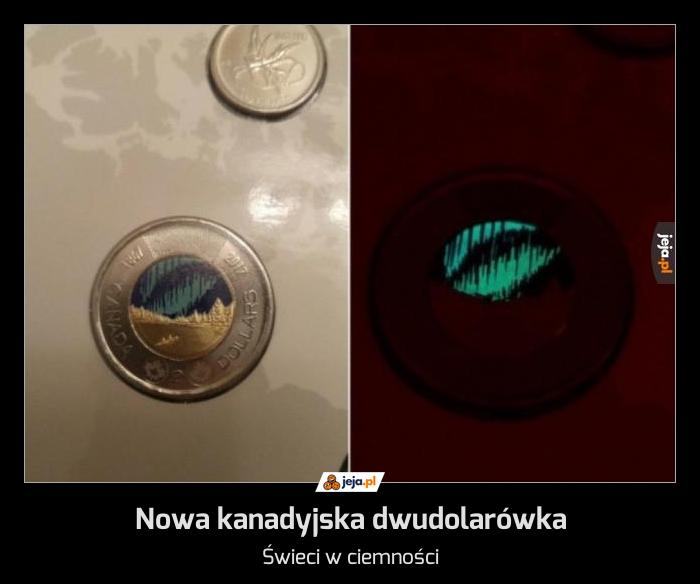 Nowa kanadyjska dwudolarówka