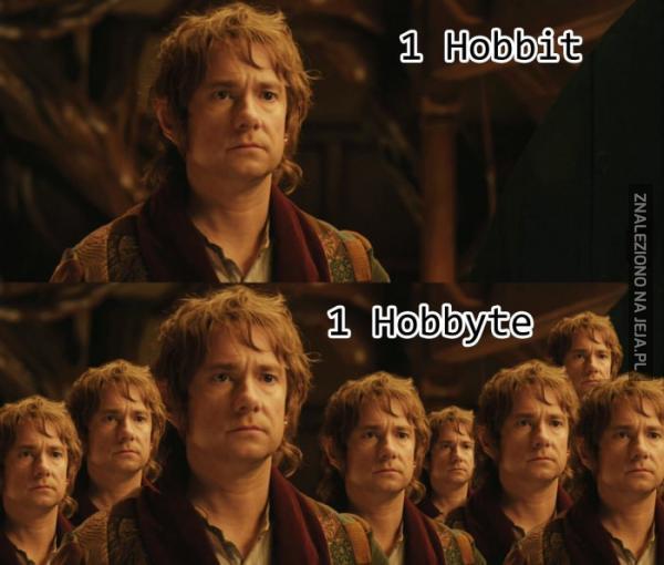 Ile bitów mieści się w jednym Hobbajcie?