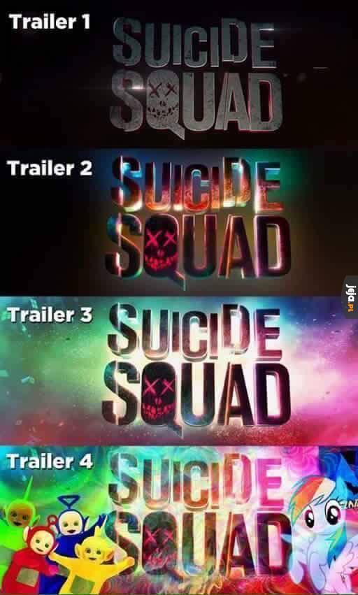 Zmiany w logo Suicide Squad