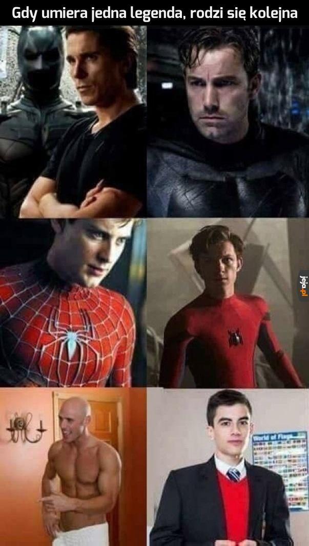 Legendarne postacie