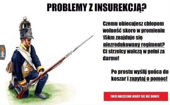 Problemy z insurekcją?