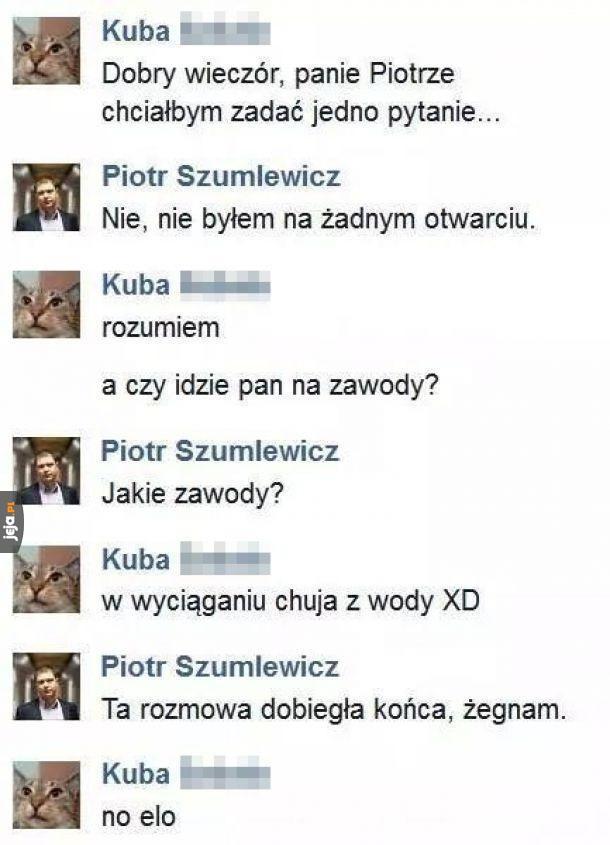 Pan Piotr na celowniku