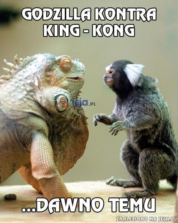 Godzilla i King-Kong w dzieciństwie