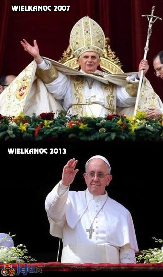Wielkanoc 2007 vs Wielkanoc 2013