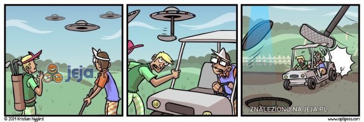 Tymczasem na polu golfowym
