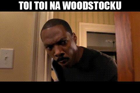 Toi Toi na Woodstocku